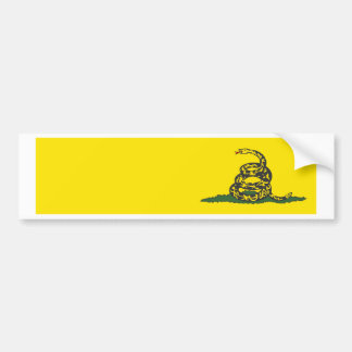 Gadsden Bumper Sticker Add Your Text