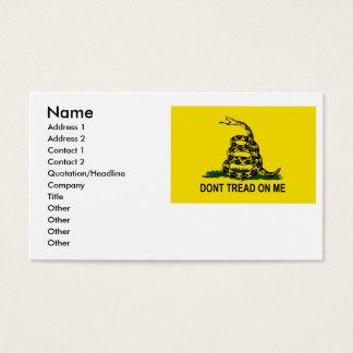 Gadsden Business Card