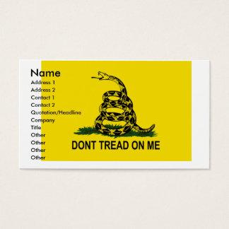 Gadsden business card,... business card