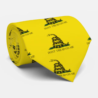 Gadsden Don't Tread On Me Tie