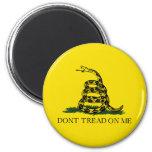 Gadsden Flag 6 Cm Round Magnet