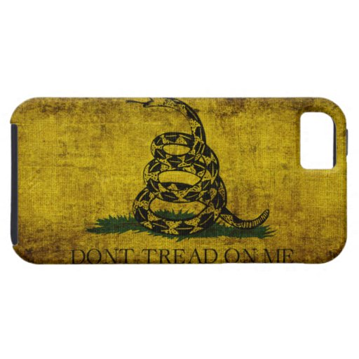 Gadsden Flag iPhone 5 Cases