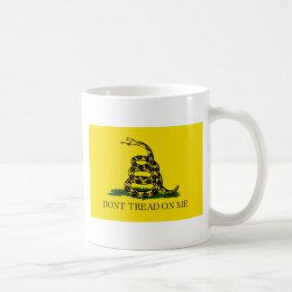 Gadsden Flag - Don't Tread On Me -  Coiled Snake Coffee Mug