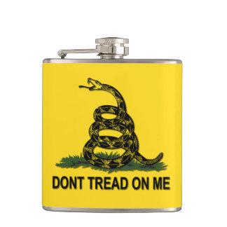 Gadsden Flag Dont Tread On Me Flasks