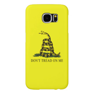 Gadsden Flag Dont Tread On Me Patriotic Protest Samsung Galaxy S6 Cases