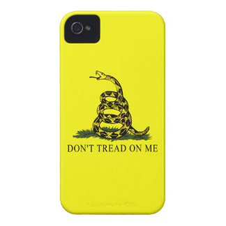 Gadsden Flag Dont Tread On Me Political Protest iPhone 4 Cases