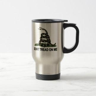 Gadsden Flag Dont Tread On Me Style 2 Travel Mug