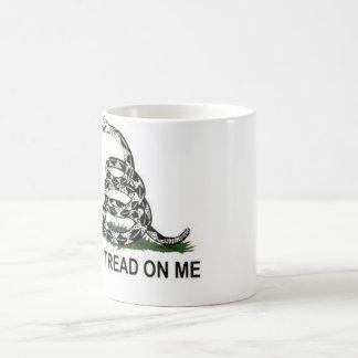 Gadsden flag basic white mug