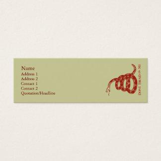 Gadsden Flag Profile Cards