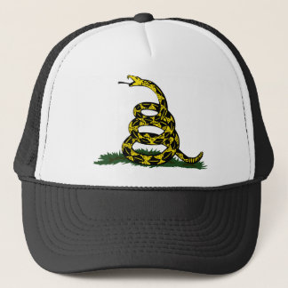 Gadsden Flag Snake Trucker Hat