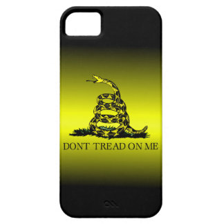 Gadsden Flag Yellow and Black Fade Barely There iPhone 5 Case