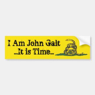 Gadsden John Galt Time Car Bumper Sticker