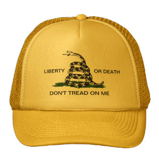 Gadsden Liberty or Death Don't Tread On Me Hat