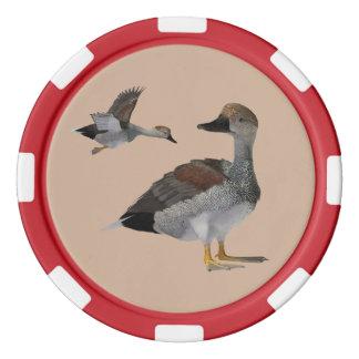 Gadwall Poker Chips