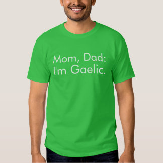 Gaelic Funny St. Patrick's Day Shirt