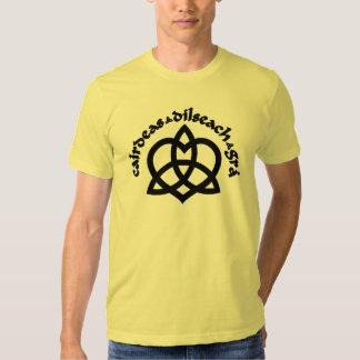 Gaelic Love Symbol T Shirt