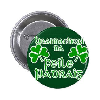 Gaelic St. Patrick's Day Button