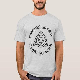 "Gaelic ""Train Hard, Fight Easy"" T-Shirt"