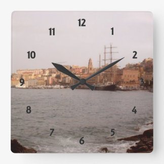 Gaeta View Wall Clock
