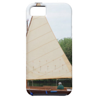 Gaff Rigged Sailing Boat iPhone 5 Covers
