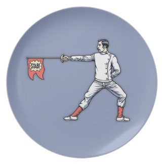 Gag Epee Plate