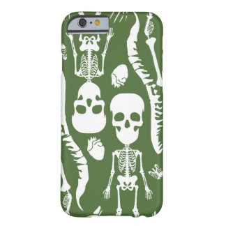 GaG Skull Head iPhone 6 Case - Green Barely There iPhone 6 Case