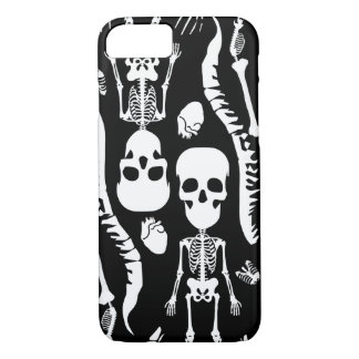 GaG Skull Head iPhone 7 Case - Black
