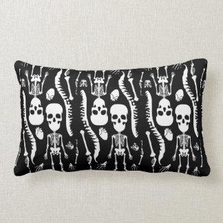 GaG Skull Head Throw Pillow - Rectangle Throw Cushions