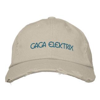 GAGA ELEKTRIX EMBROIDERED BASEBALL CAP