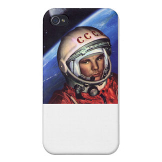 Gagarin Cosmos USSR Covers For iPhone 4