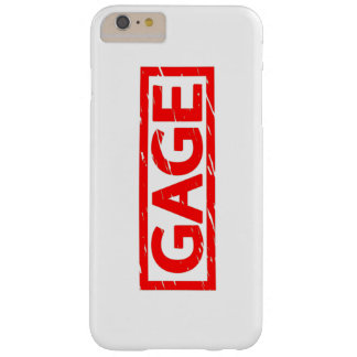 Gage Stamp Barely There iPhone 6 Plus Case