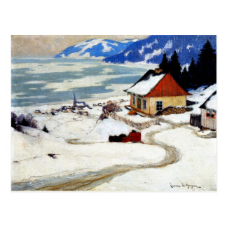 Gagnon - The Red Sleigh Postcard
