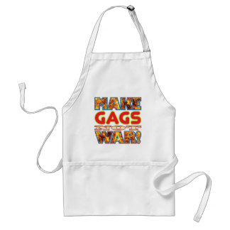 Gags Make X Standard Apron