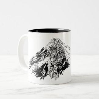 GAI Tribal Mt.Fuji Mag - the try val Mt. Fuji Two-Tone Coffee Mug