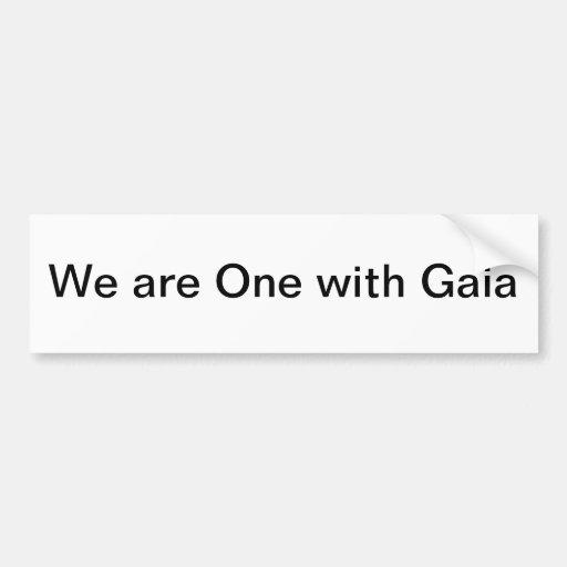 gaia bumper stickers