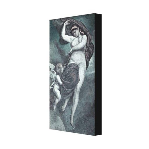Gaia Stretched Canvas Print
