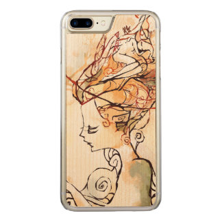 Gaia Carved iPhone 8 Plus/7 Plus Case