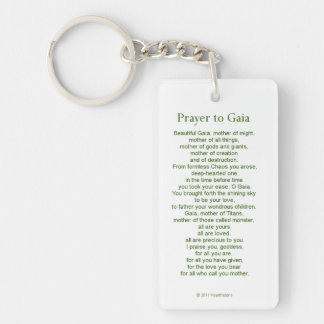 Gaia Keychain