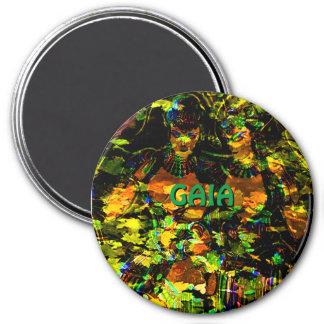 GAIA Magnet 3 Inch Round Magnet