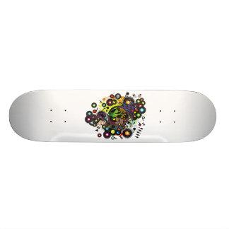 Gaia_Memories Custom Skate Board