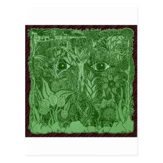 Gaia Mind of Nature Postcard