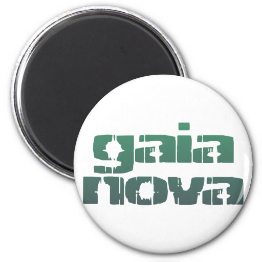 gaia new facts fridge magnet