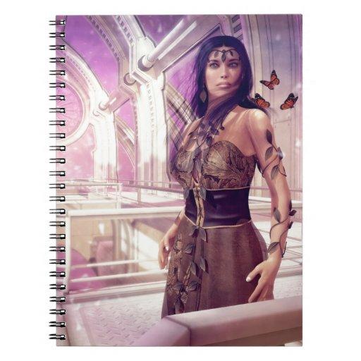 Gaia Spiral Notebooks
