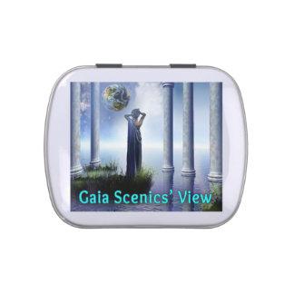 Gaia Scenics' View Square Tin Candy Tins