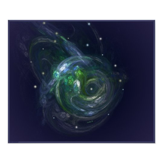 GAIA ~ THE LIVING PLANET POSTER