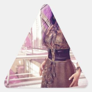 Gaia Triangle Sticker