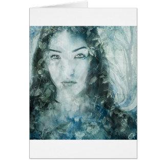 Gaia Watercolour Greeting Card