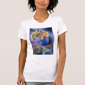gaia, we are earth tee shirt