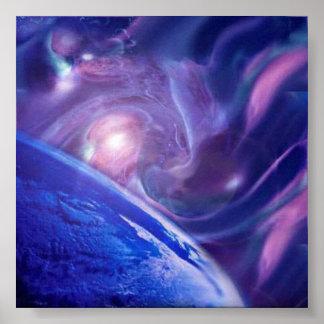 Gaia's Birth Poster
