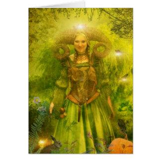 Gaia's Garden Greeting Card